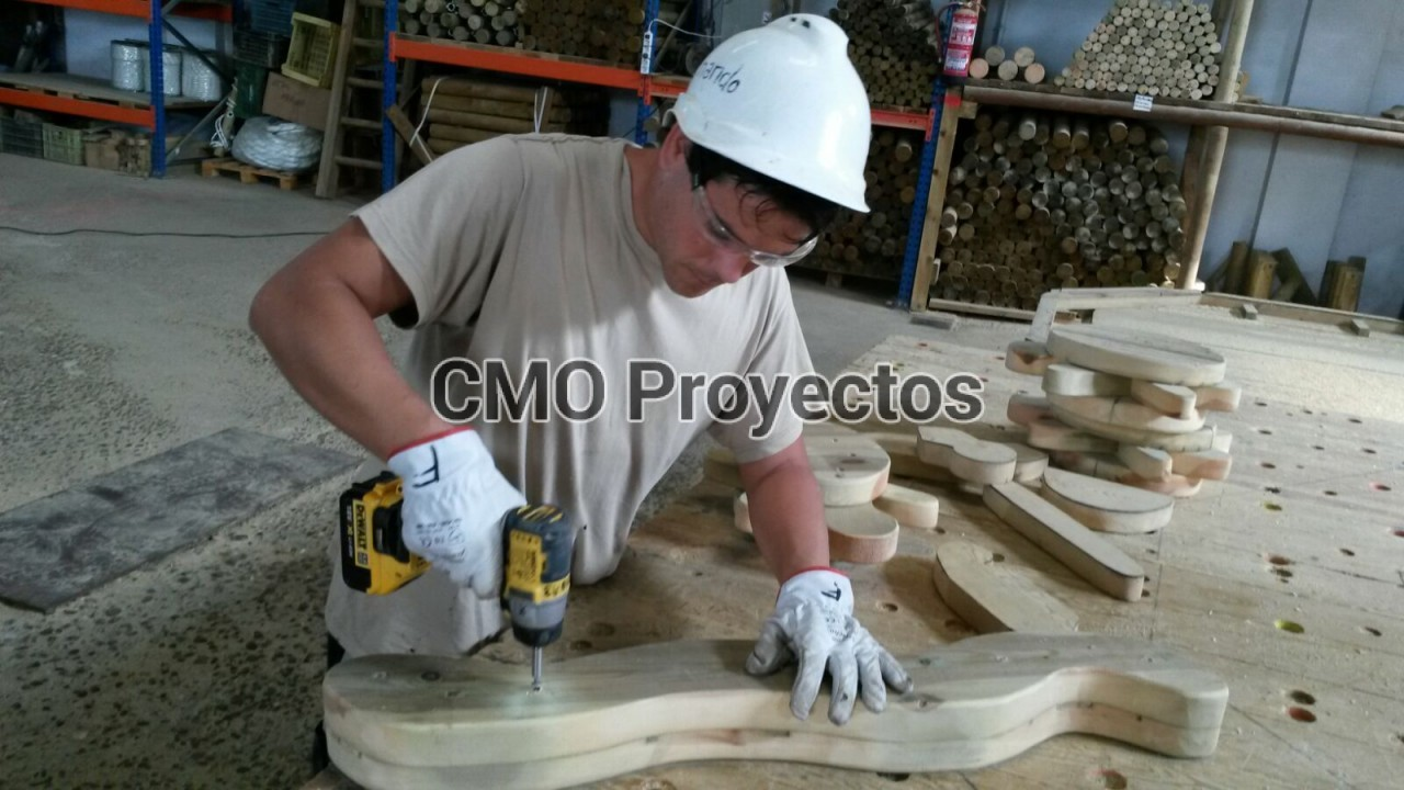 We are manufacturers en Parque Multiaventura CMO Proyectos
