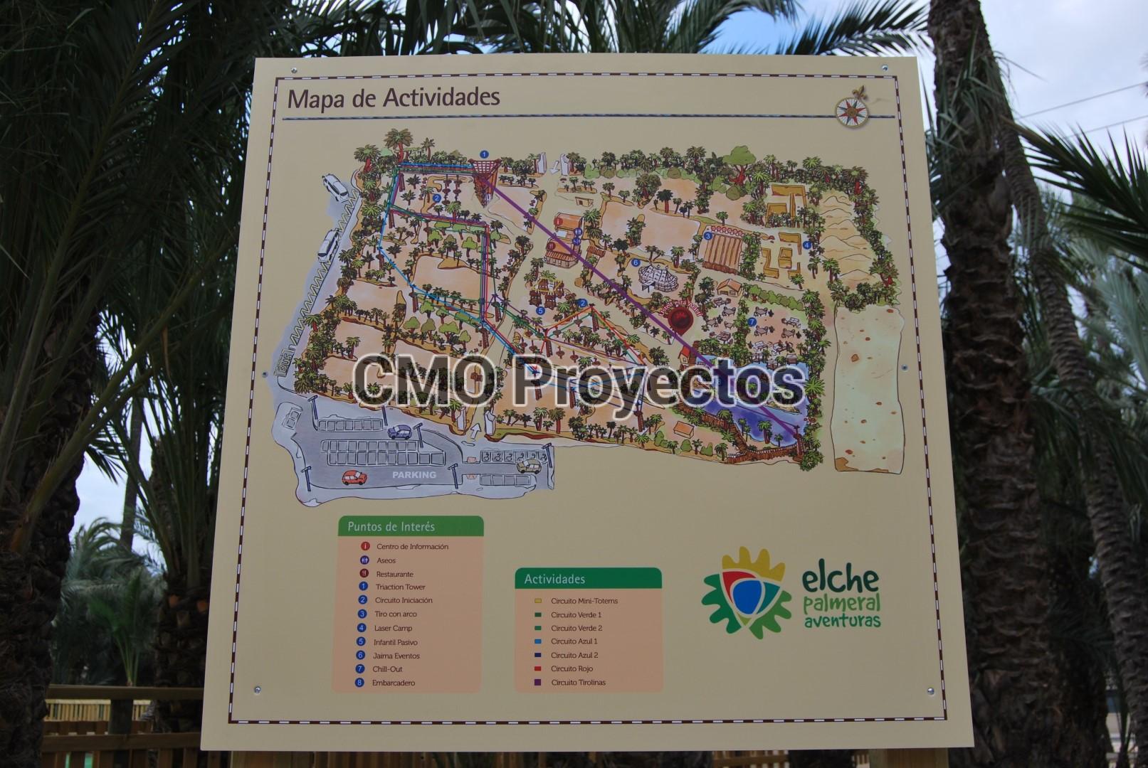 Exploitation Consulting en Parque Multiaventura CMO Proyectos