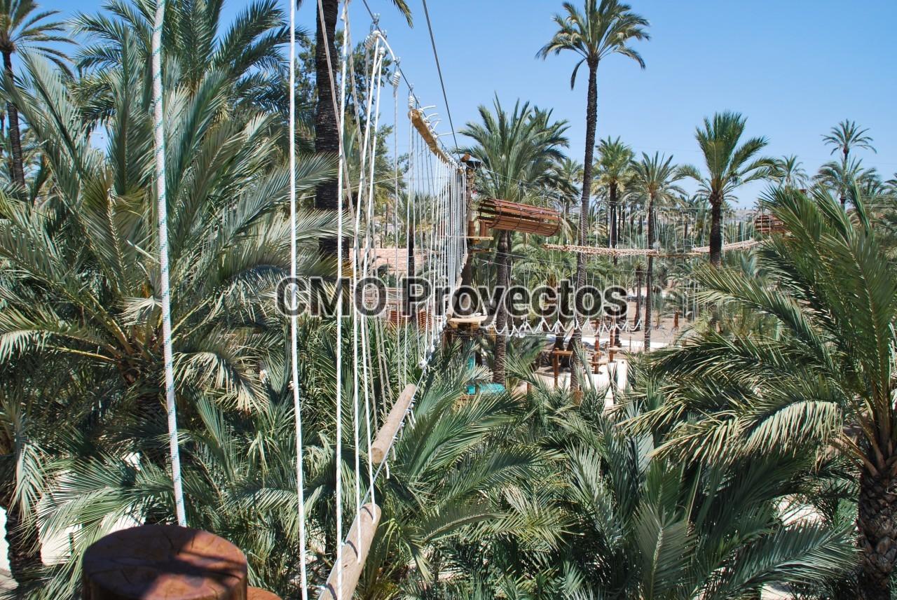 Parc Elx Palmeral Aventuras en Parque Multiaventura CMO Proyectos