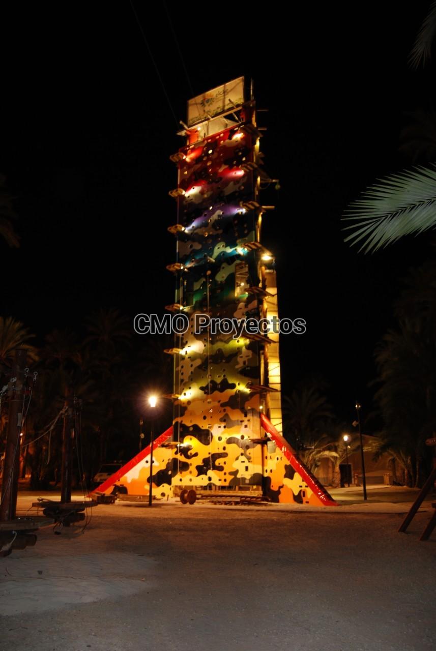 Triaction Tower en Parque Multiaventura CMO Proyectos