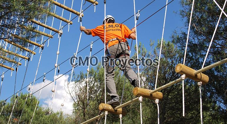 About us en Parque Multiaventura CMO Proyectos