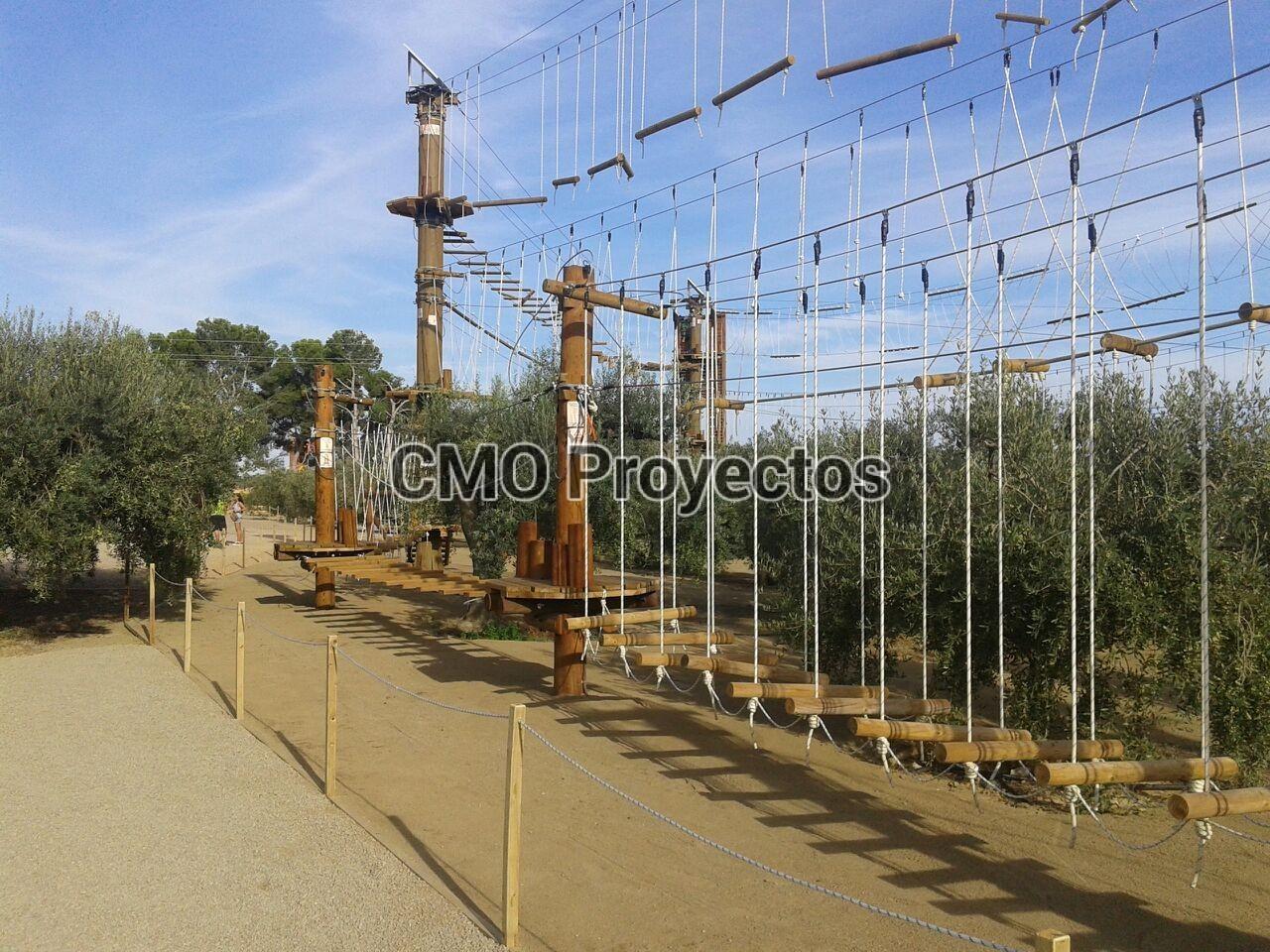 Parque Jumpland Aventura (Tarragona) en Parque Multiaventura CMO Proyectos