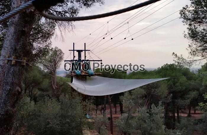 R+D en Parque Multiaventura CMO Proyectos